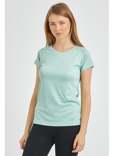 Slazenger Slazenger RELAX Kadın T-Shirt Nane Renkli